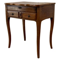 French Provincial Fruit Wood Poudreuse