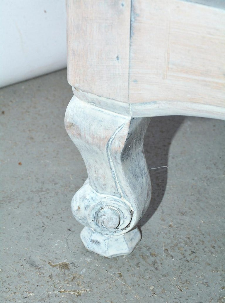French Provincial Louis XV Style Bookshelf For Sale 4