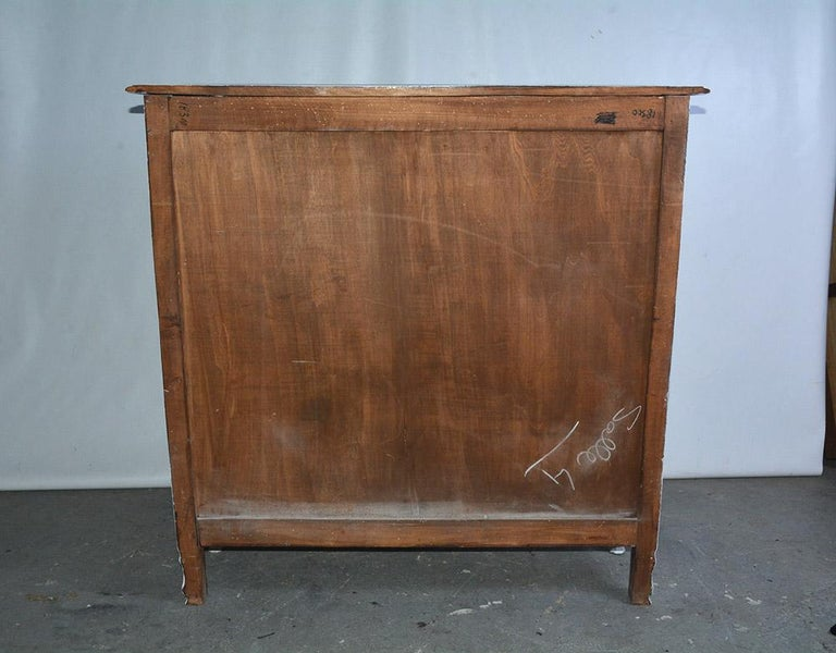 French Provincial Louis XV Style Bookshelf For Sale 6