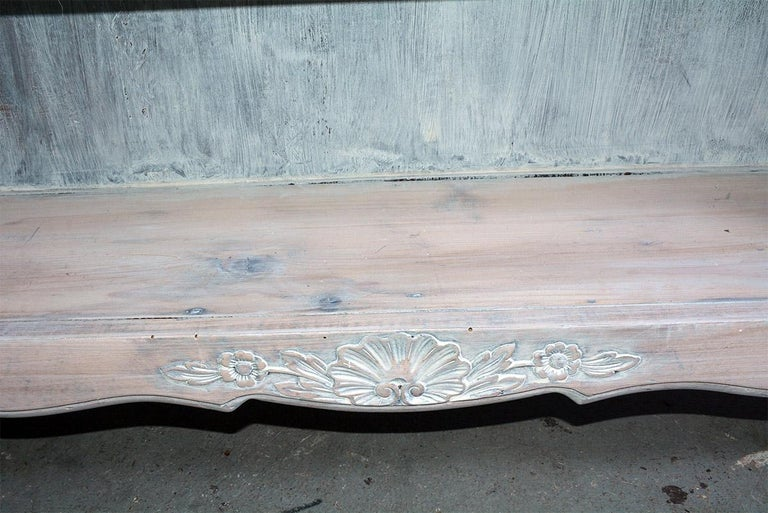 French Provincial Louis XV Style Bookshelf For Sale 2