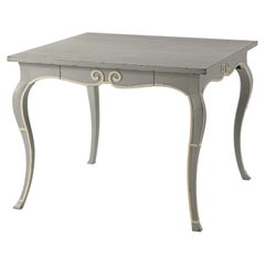 French Provincial Painted Game Table