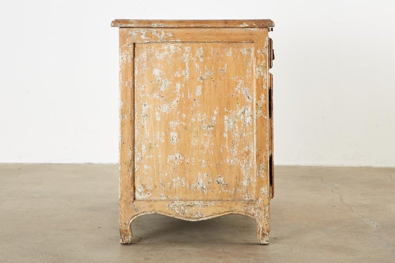 French Provincial Style Nightstand Cabinet with Pull Out Tray For Sale 1