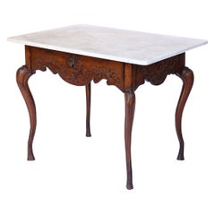 French Provincial Walnut Table