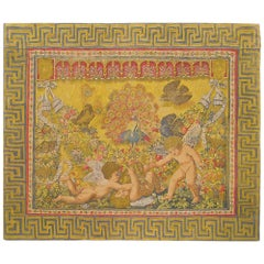 French Rambouillet Pictorial Tapestry, circa 1890