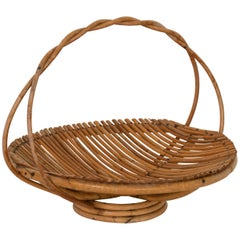 French Rattan Fruit Tray