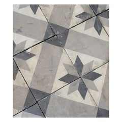 French Reclaimed Stone Flooring Tiles