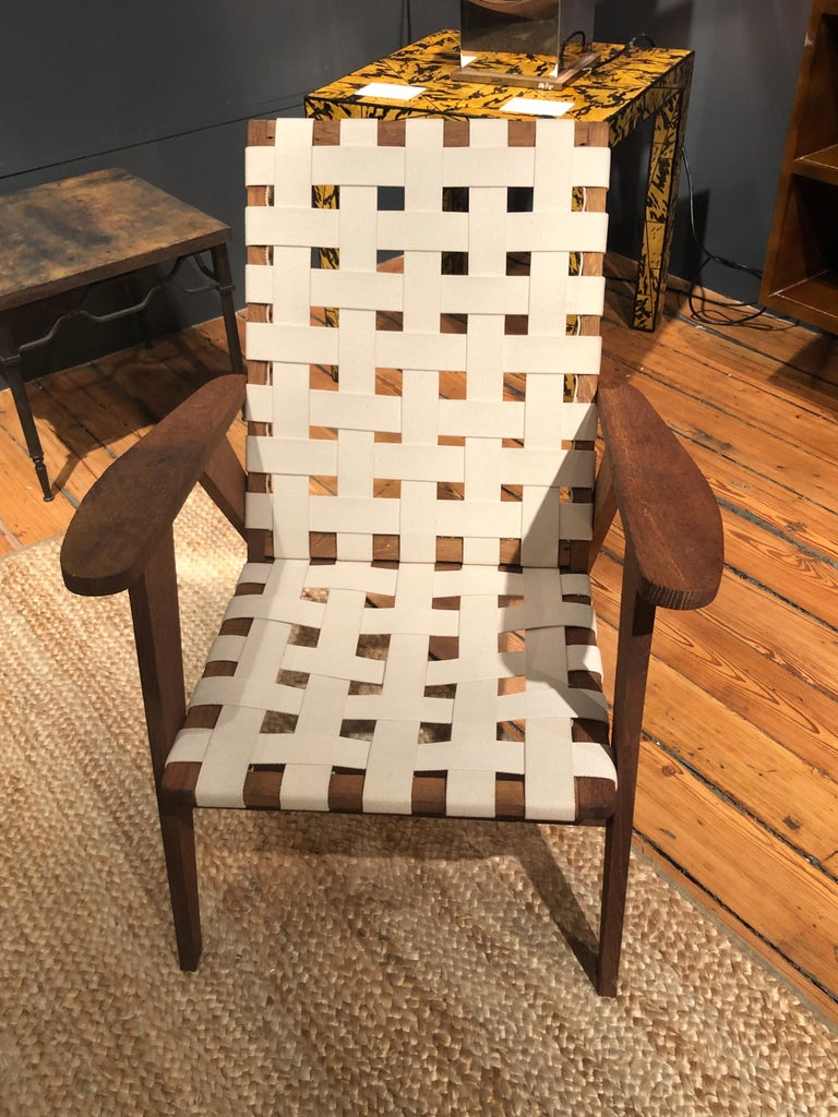 Mid-Century Modern French Reconstruction Armchairs For Sale