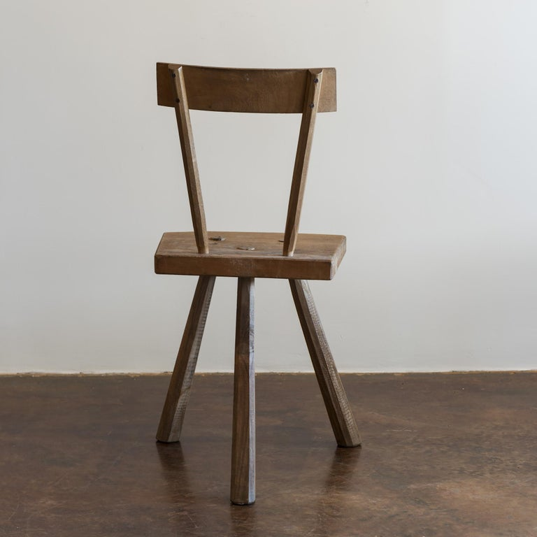 French Reconstructionist Chairs after Jean Touret, France, 1950s For Sale 2