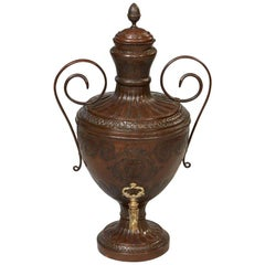 French Regence Copper Wine Urn