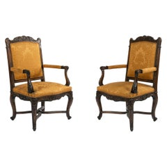 French Regence Gold Armchairs