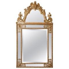 French Regence Period Mirror, 18th Century