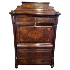 French Regency Rosewood Escritoire