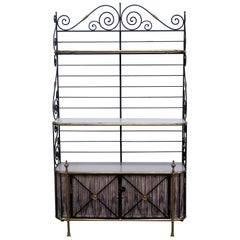 French Regency Style Bakers Rack