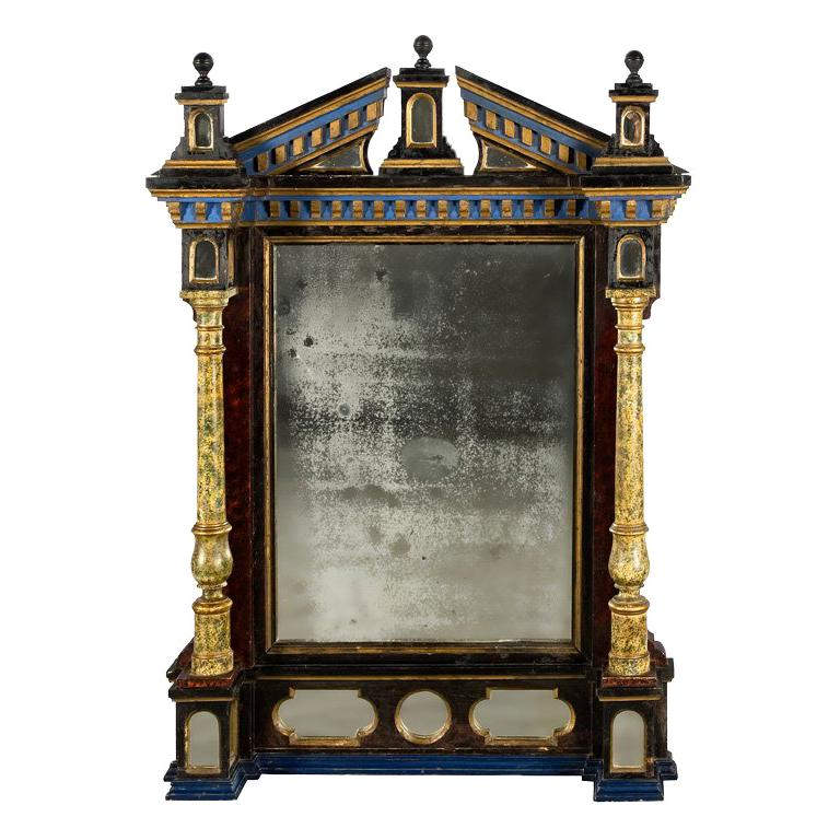 French Renaissance Style Mirror