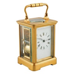 French Repeat Carriage Clock, 19th Century