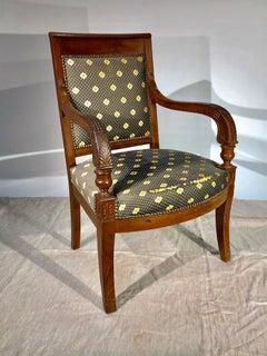 French Restauration Period Armchair