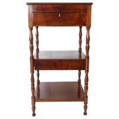 English Mahogany Étagère Stand or Side Table attributed to Gillows, circa 1810
