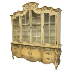 French Rococo Style China Cabinet by Romweber