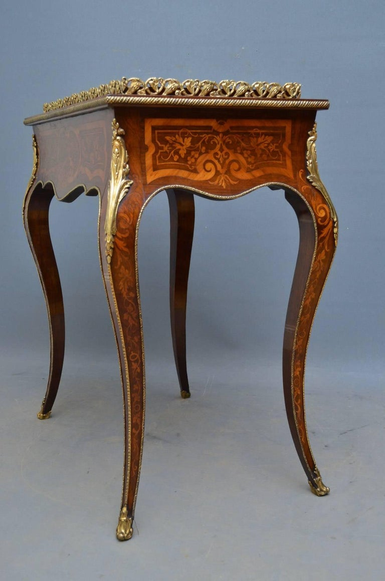French Rosewood and Inlaid Jardinière Plant Stand For Sale 14