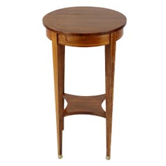 French Rosewood Gueridon Side Table, Late 19th Century, circa 1880-1990
