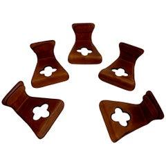 French Saddle Leather Hooks