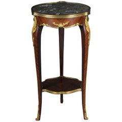 French Salon Side Table in Louis Quinze
