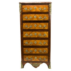 French Satinwood Lingerie Chest