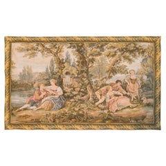 French Scenic Tapestry Wall Hanging