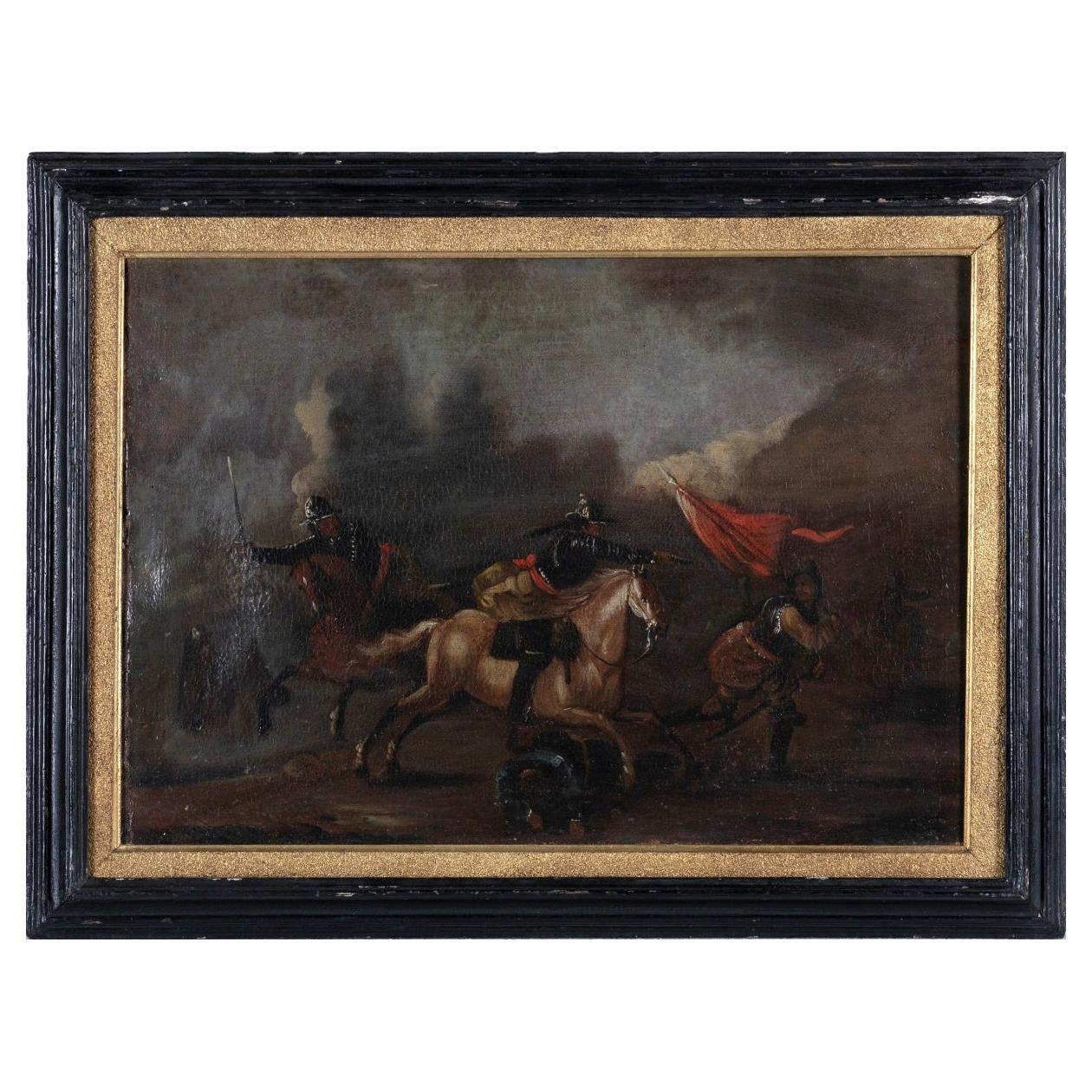 "French School 18th Century ""Battle"""
