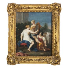 "French School Painting ""Diana with a Mirror"", 19th Century"
