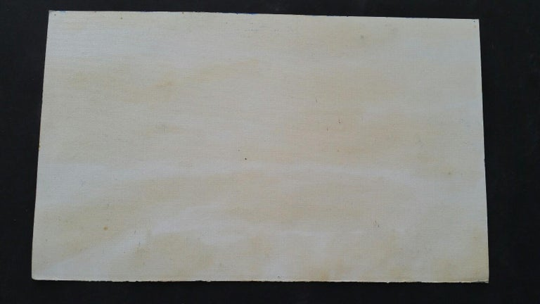 20th Century French Oil Painting A Summer Sea View For Sale 9