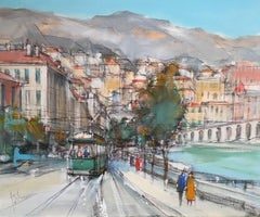 Monte-Carlo, Signed Oil Painting