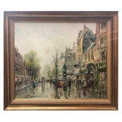 French School-Paris Street Scene