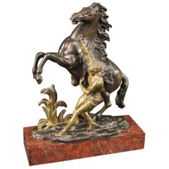 French Sculpture in Gilt Bronze, 20th Century