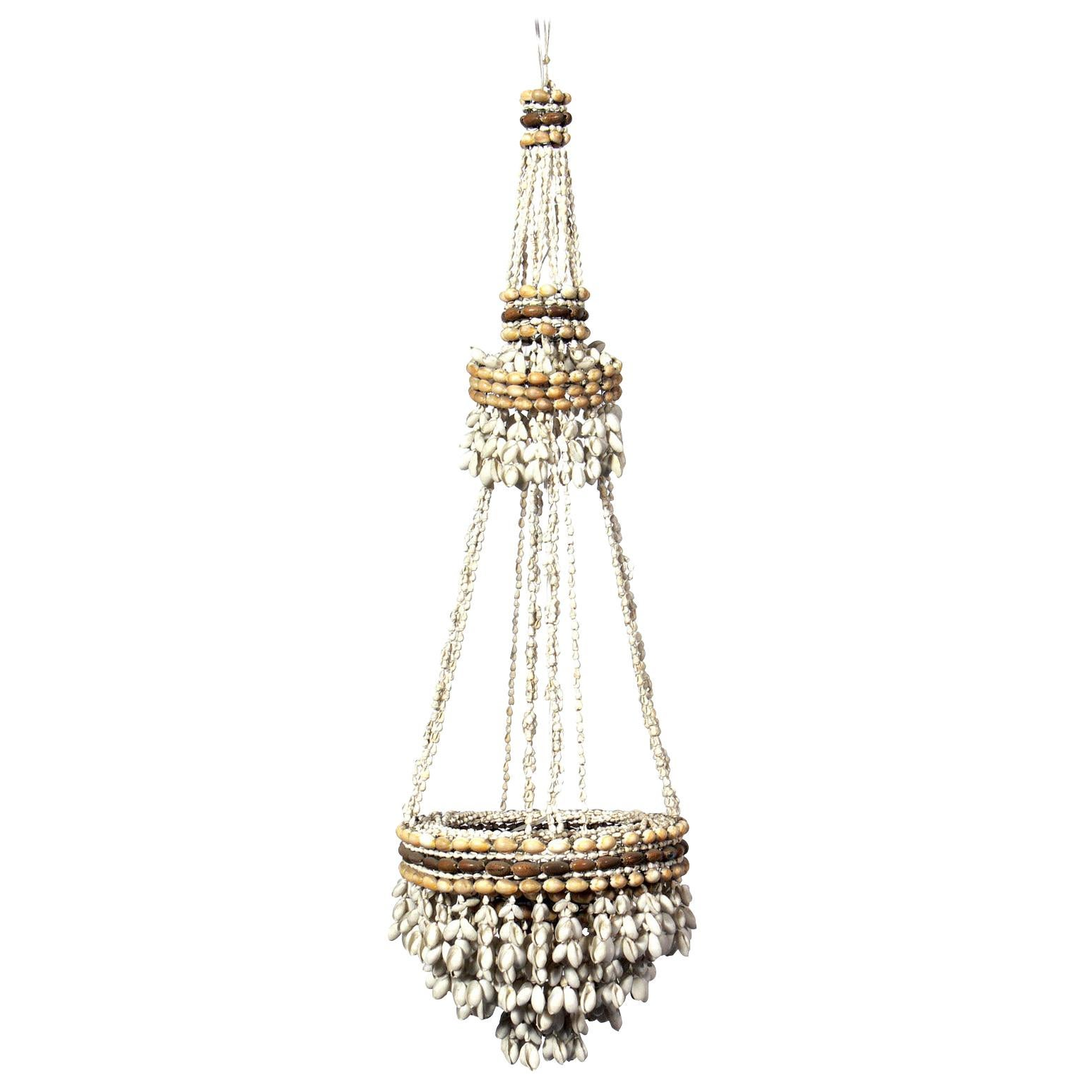 French Sea Shells Chandelier or Pendant