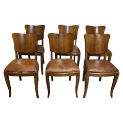 French Set of 6 Dining Chairs