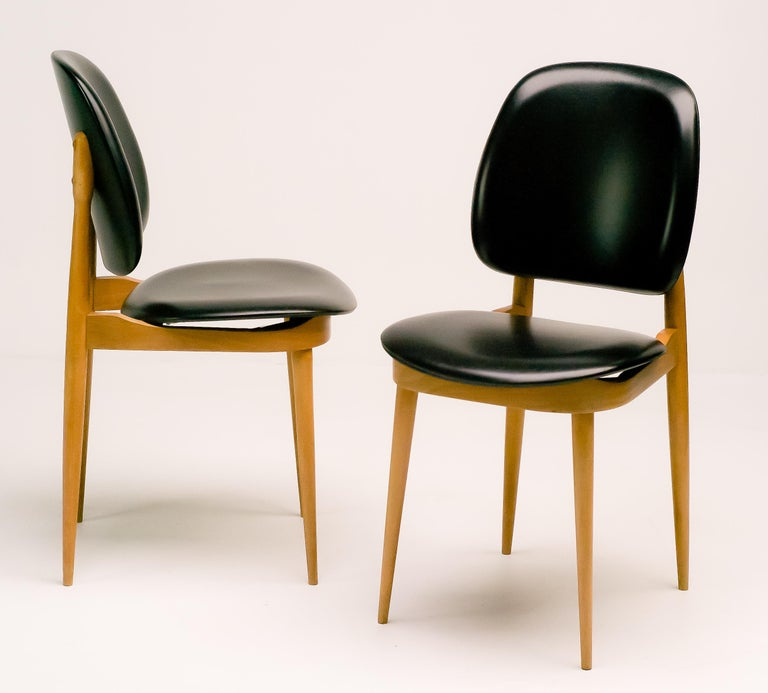 French Side Chairs In Good Condition For Sale In Dronten, NL