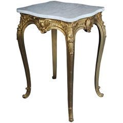 French Side Table Napoleon III, circa 1890