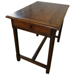 French Side Table with Drawer