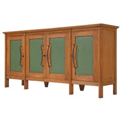 French Sideboard in Oak, 1940s