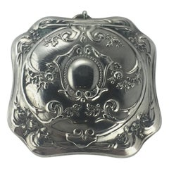 French Silver Art Nouveau Sovereign Holder