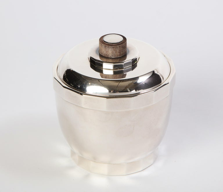 French Silver-Plated Four-Piece Puiforcat Tea and Coffee Service, Circa 1990 For Sale 11