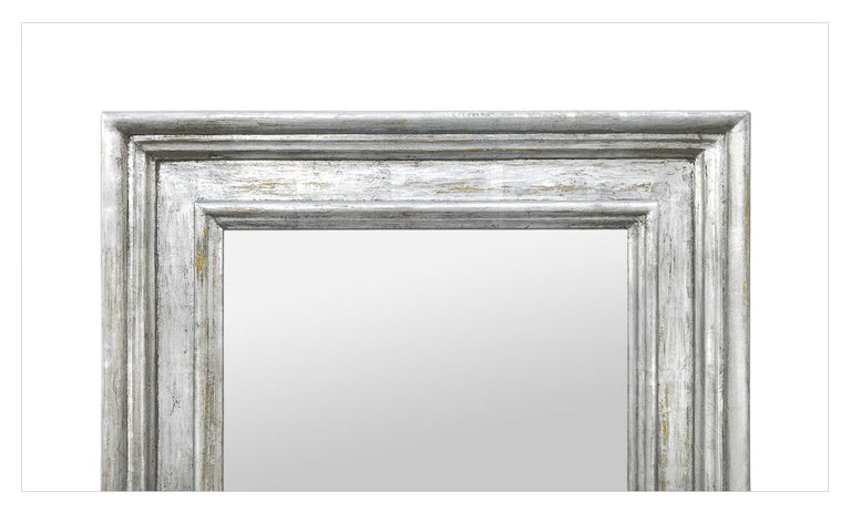 French Silver Wood Mirror, Frame Inspiration