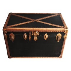 French Steamer Trunk or Console Table