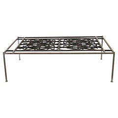 French Steel Coffee Table