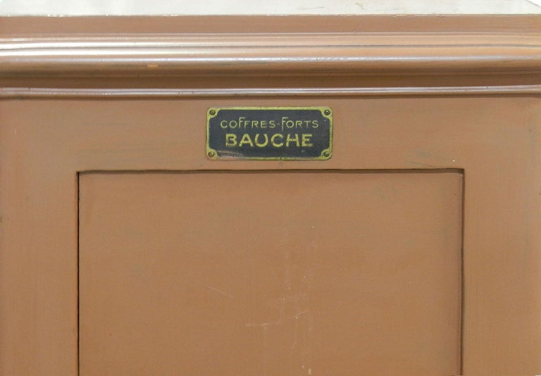 French Steel Safe by Bauche For Sale 3
