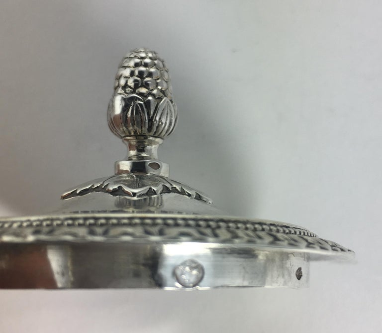French Sterling Silver Chocolate Pot, 19th Century For Sale 2