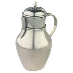 French Sterling Silver Salt Shaker, Dated 1883