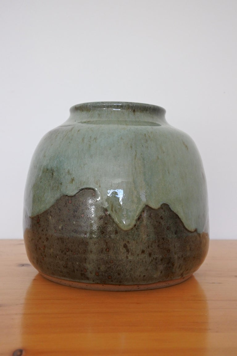 French Stoneware Vase from La Borne, France, 1970s For Sale 2