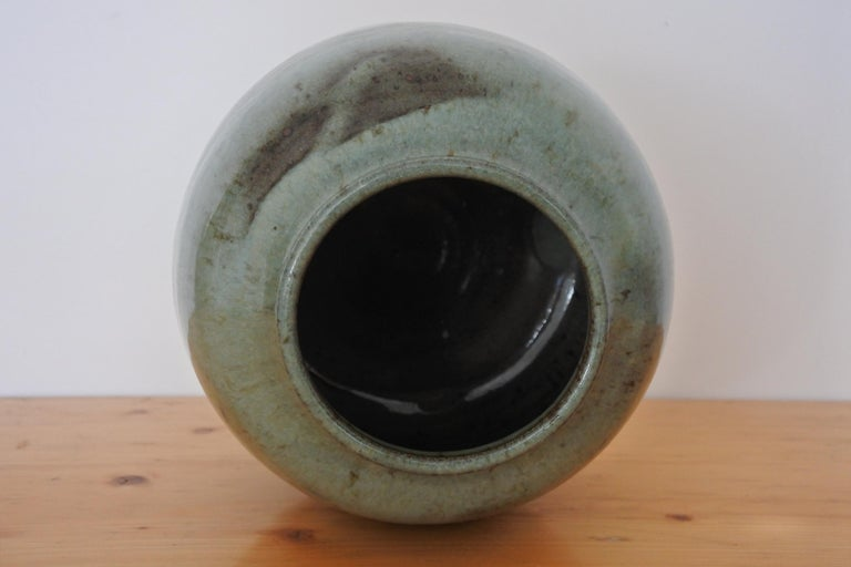 French Stoneware Vase from La Borne, France, 1970s For Sale 3